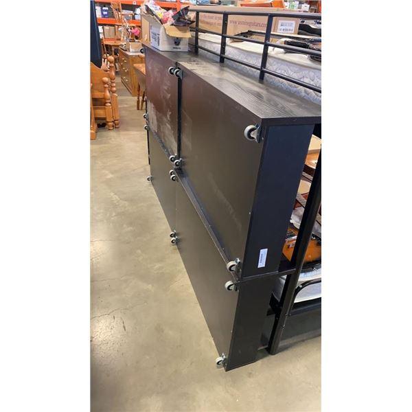4 Black universal ikea underbed storage drawers