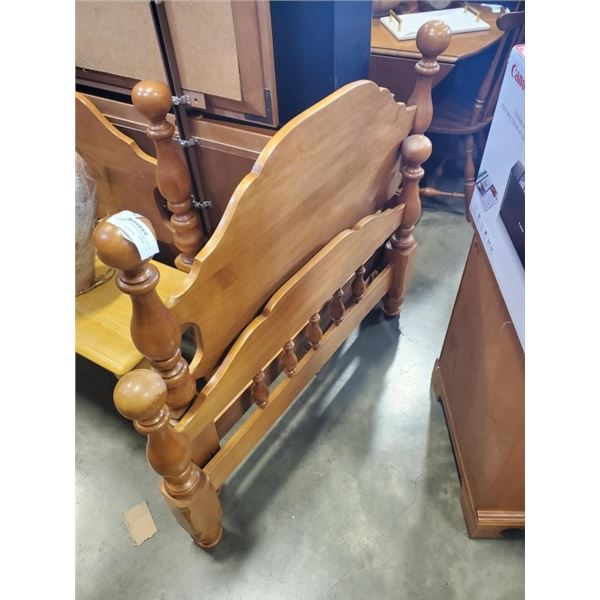 MAPLE SINGLE SIZE BED FRAME