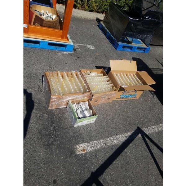4 BOXES OF BIN SCOOPS
