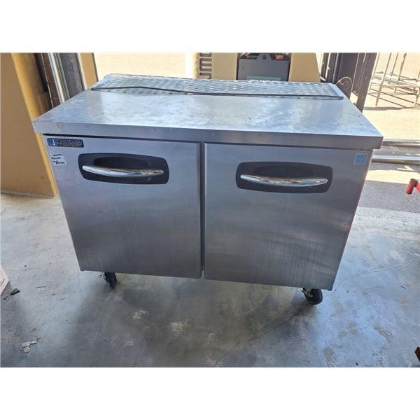 Master-Bilt undercounter UR48 Double door refrigerator