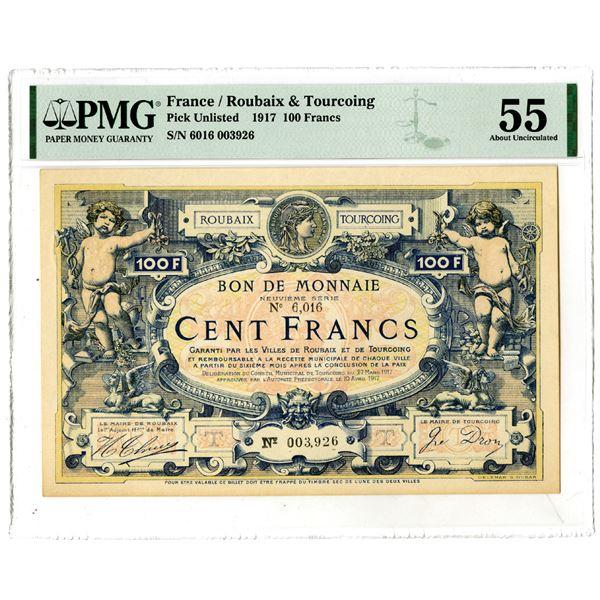 Bon de Monnaie, 1917 Issued Local Banknote
