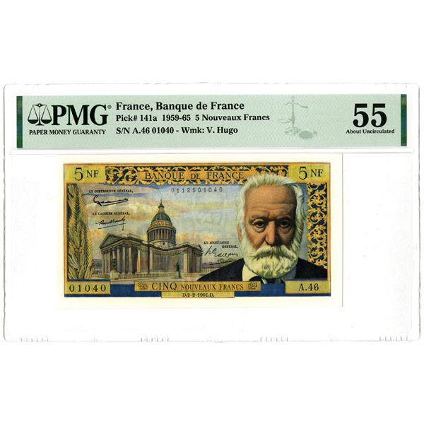 Banque de France, 1959-65 Issued Banknote