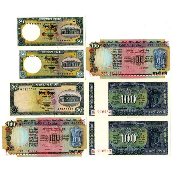 Reserve Bank of India and Bangladesh Bank Assortment