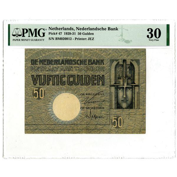 Nederlandsche Bank, 1929-31 Issued Banknote