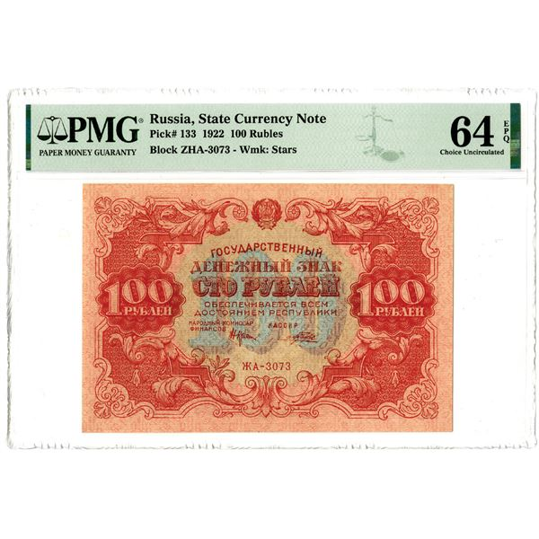 State Currency Note, 1922 Issued Banknote