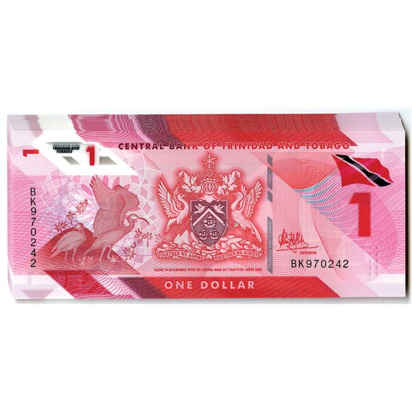 Central Bank of Trinidad and Tobago, 2020 Issued Banknote Group of 30