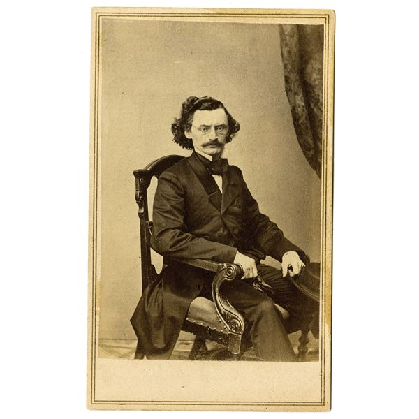 Carl Schurz Photograph From Brady First Published in the National Portrait Gallery, ca. 1860-70s