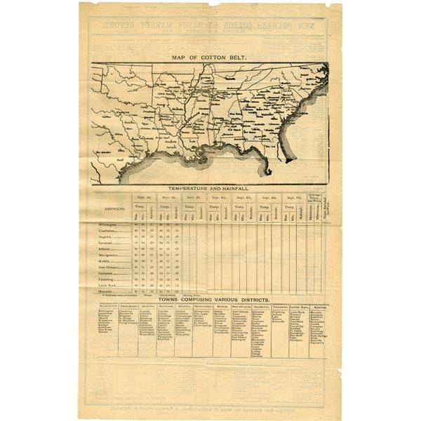 New Orleans Cotton Exchange Market Report for 1894.