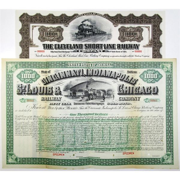 Cincinnati, Indianapolis, St. Louis & Chicago Railway Co. and Cleveland Short Line Railway Co. Speci
