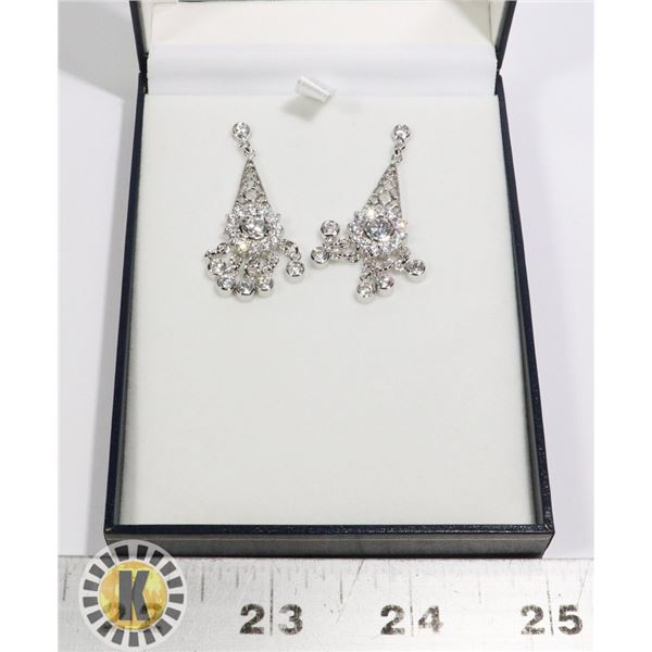 FASHION EARRINGS. STICKERED  PRICE- $70