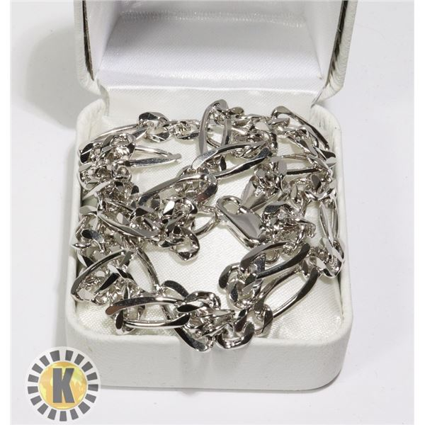 """SILVER 22.8G 18"""" NECKLACE"""