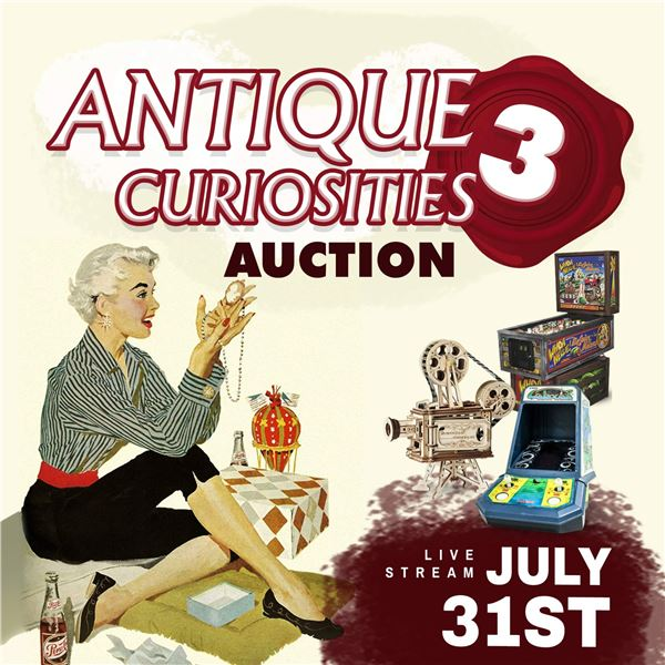 WELCOME TO THE ANTIQUE CURIOSITIES 3 AUCTION!
