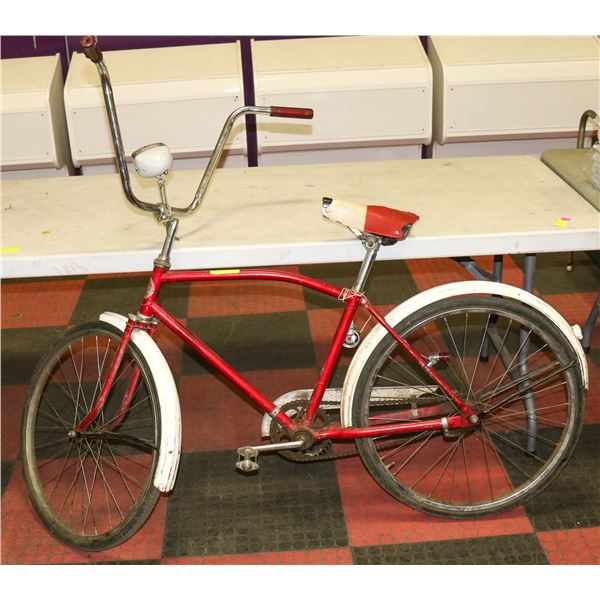 1960S SUPERCYCLE CRUISER WITH HIGH BARS, HEAD AND