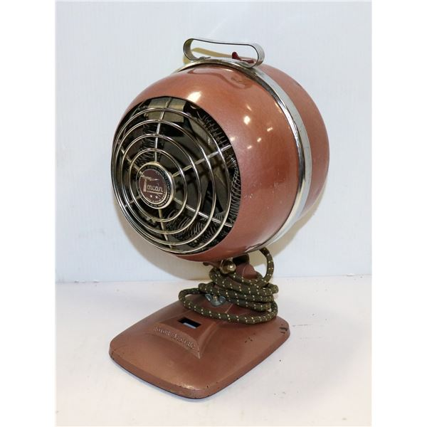 1950S TORCAN ROTOR HEATER SPACE AGE DESIGN