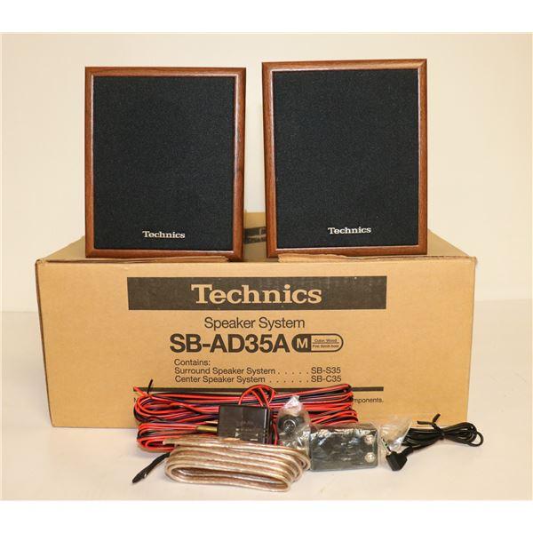 PAIR OF TECHNICS SBAD35A SPEAKERS