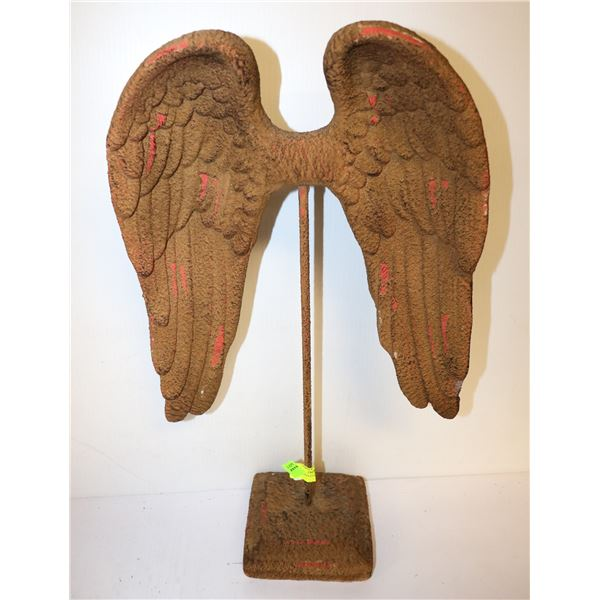 ANGEL WINGS STATUE ON STAND