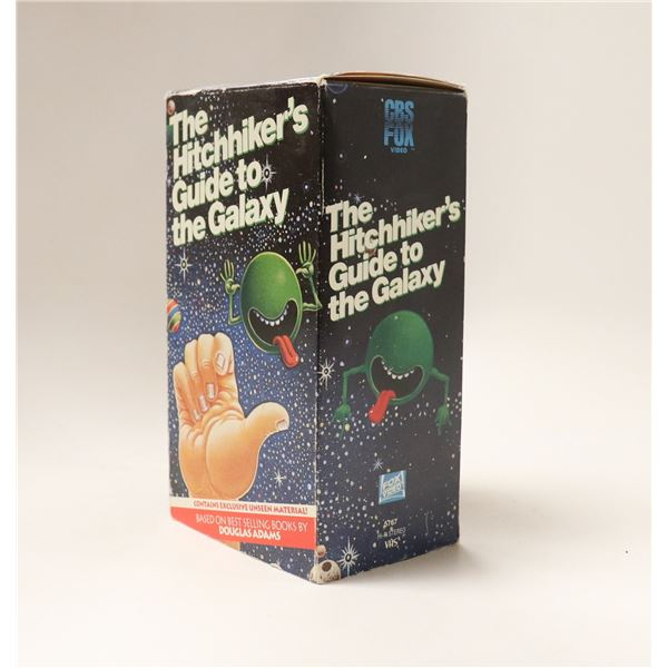 1993 HITCH HIKERS GUIDE TO GALAXY BOXED SET VHS