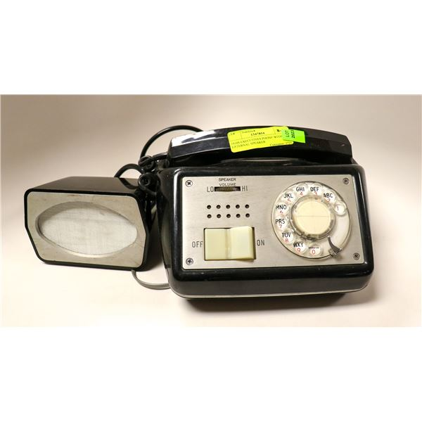 1950S EXECUTIVES PHONE WITH EXTERNAL SPEAKER