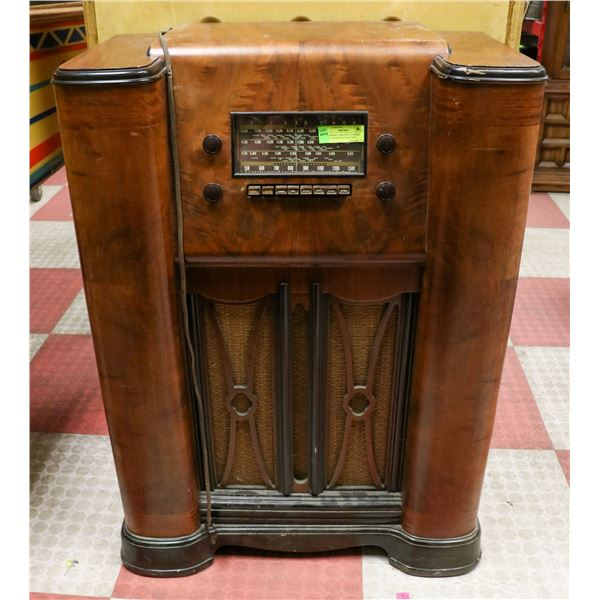 STROMBERG CARLSON CONSOLE RADIO OLDER RESTORATION