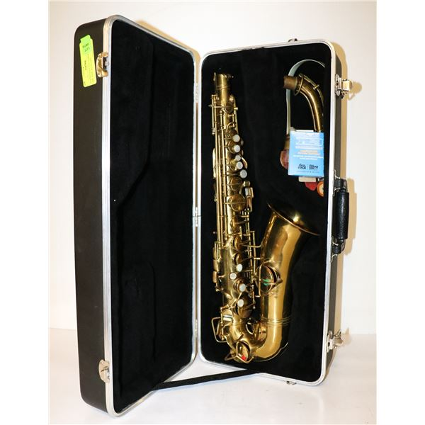 1914 PATENT CONN SAXOPHONE LOW TONE WITH CASE