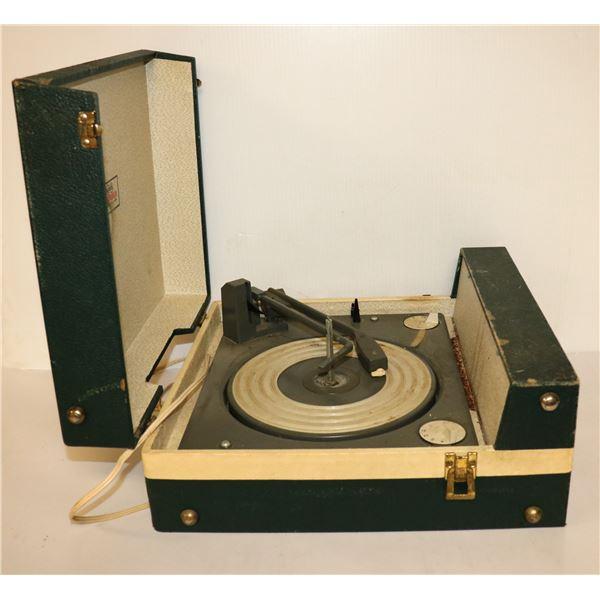 1950S RCA TRANSISTOR RECORD PLAYER