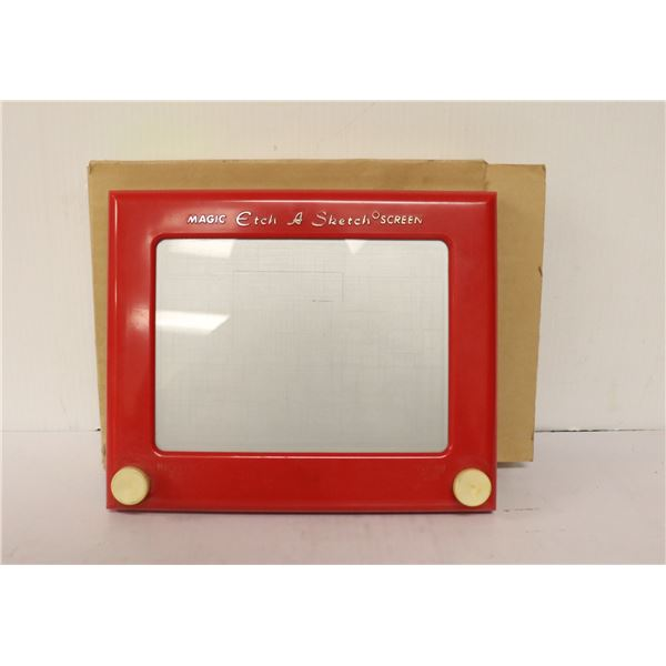ORIGINAL ETCH A SKETCH WITH BOX AND INSTRUCTIONS