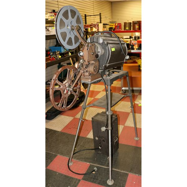 1930 AMPRO MOVIE THEATRE PROJECTOR WITH AMPLIFIER