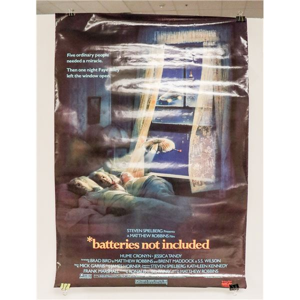 1980S BATTERIES NOT INCLUDED MOVIE POSTER