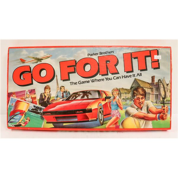 1980S GO FOR IT BOARD GAME