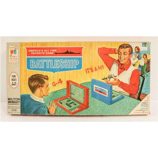 1960S BATTLESHIP BOARD GAME IN BOX