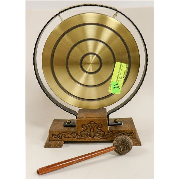 SMALL FUNCTIONING GONG
