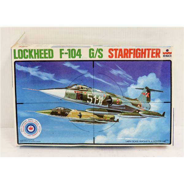 LOCKHEED F104 STARFIGHTER MODEL KIT