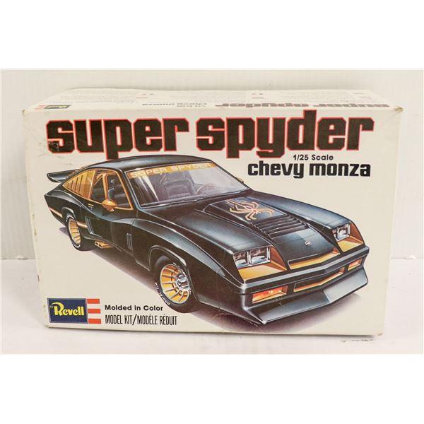 1978 REVELL SUPER SPIDER MONZA MODEL KIT