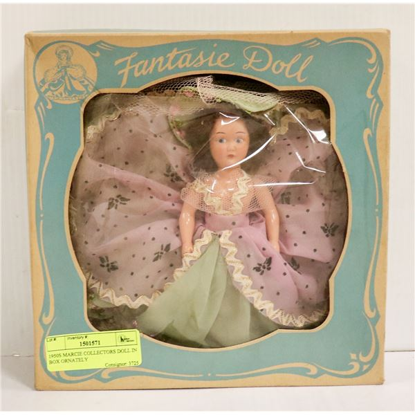1950S MARCIE COLLECTORS DOLL IN BOX ORNATELY