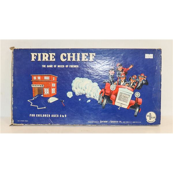 ANTIQUE FIRE CHIEF BOARD GAME