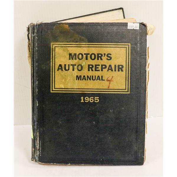 1965 MOTORS ALL MAKES AUTO REPAIR MANUAL