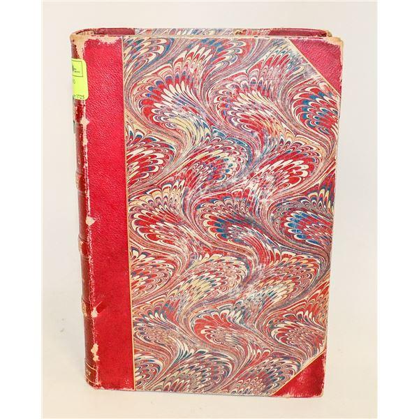 1864 HARPER MAGAZINE BOUND HARDCOVER BOOK