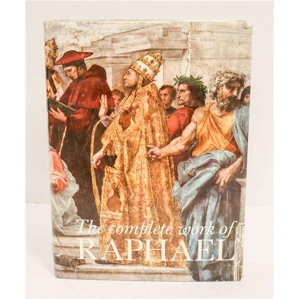 MASSIVE BOOK COMPLETE WORKS OF RAPHAEL
