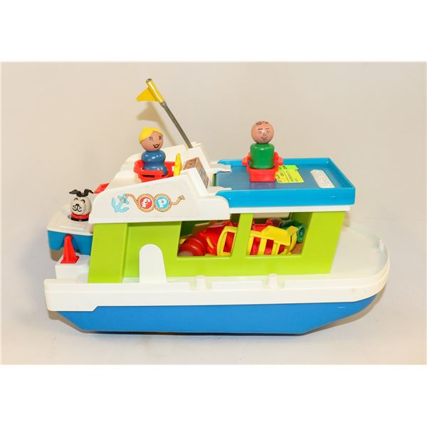 1970S FISHER PRICE LITTLE PEOPLE YACHT
