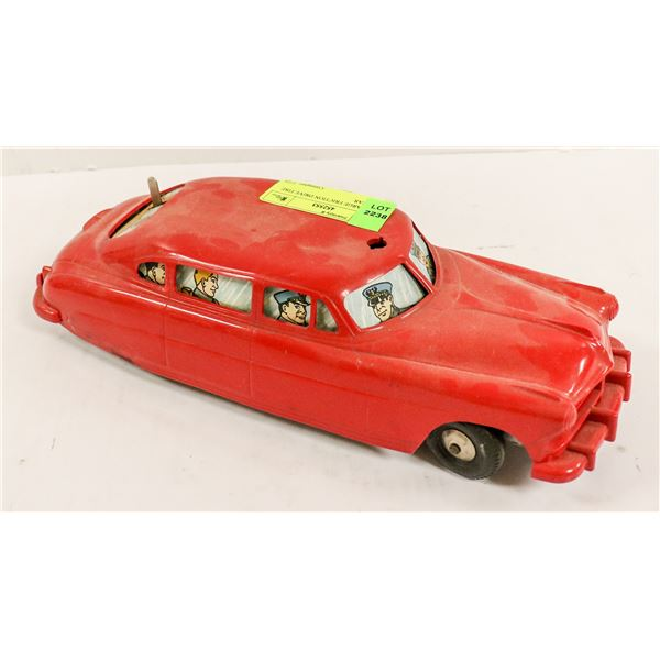 1940S LARGE FRICTION DRIVE FIRE CHIEF CAR