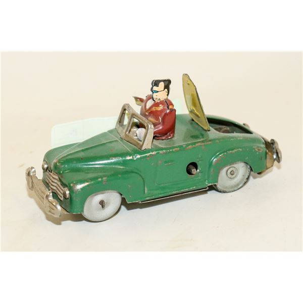 1950S TIN WIND UP ROCK AND ROLL HOT ROD