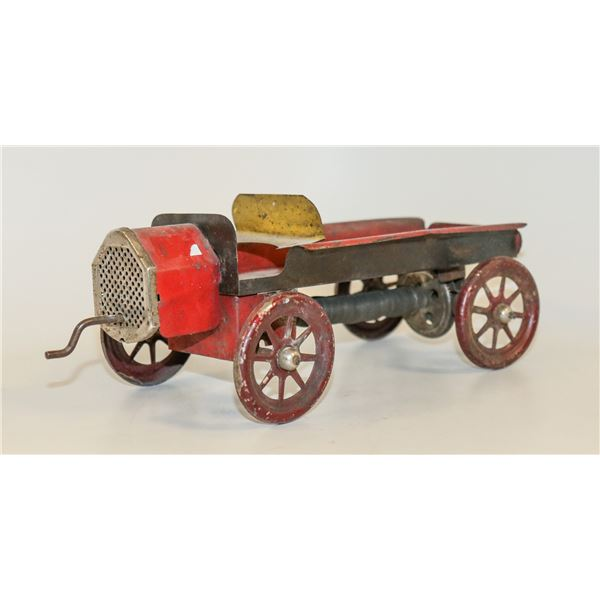 1900S TIN WIND UP MACK TRUCK VERY EARLY TOY