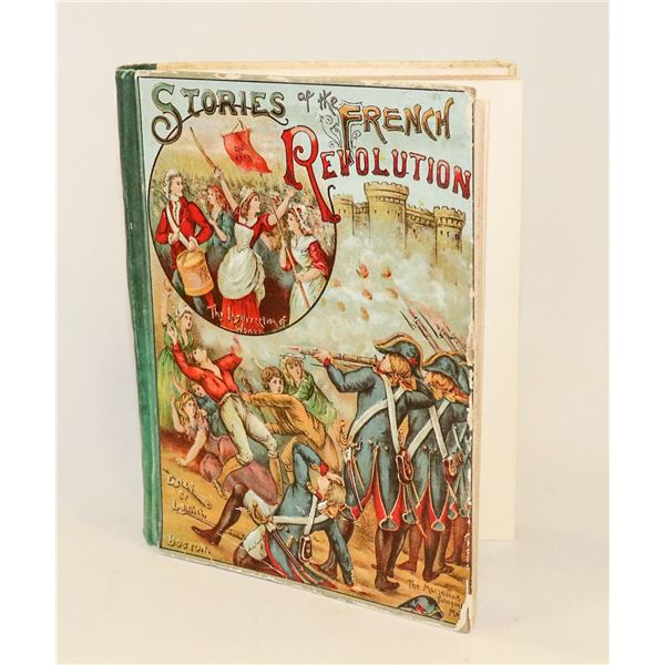 1893 BOOK STORIES OF FRENCH REVOLUTION