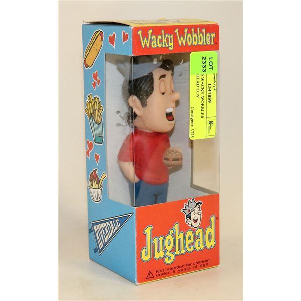 JUGHEAD WACKY WOBBLER BOBBLE HEAD TOY