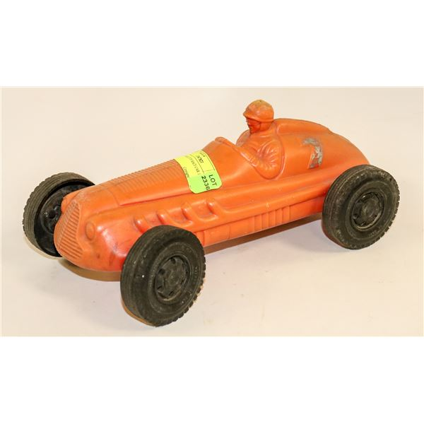 1950S LARGE TOY RACE CAR 12 IN