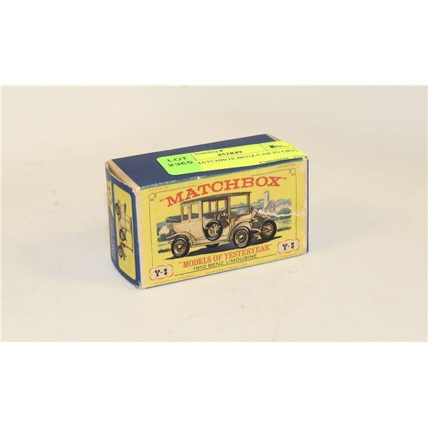 1960S MATCHBOX BENZ CAR IN ORIG BOX