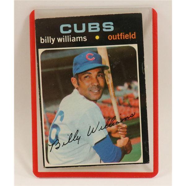 1971 BILLY WILLIAMS BASEBALL CARD