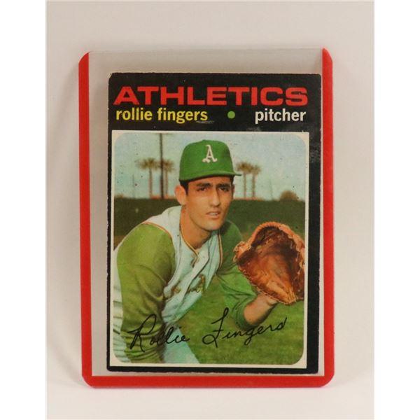 1971 ROLLIE FINGERS BASEBALL CARD