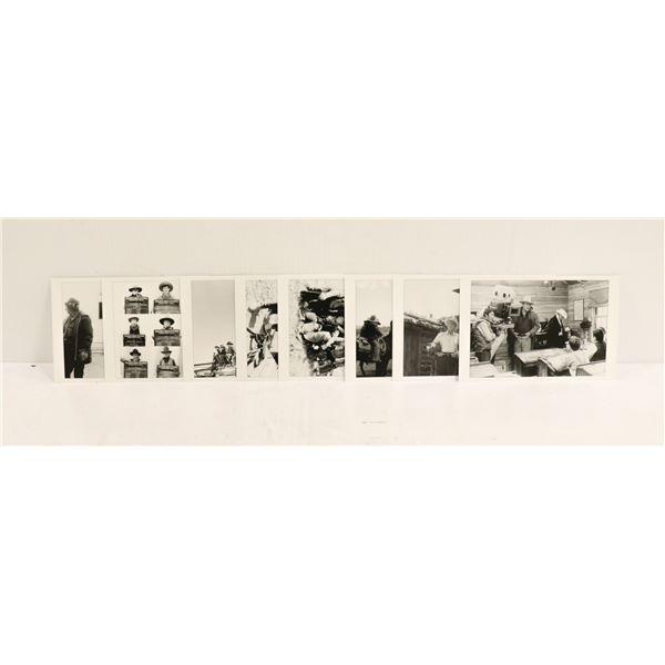 ASSORTMENT OF JOHN WAYNE PROMO MOVIE PHOTOS