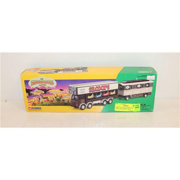 CORGI LEYLAND BUMPER CAR CIRCUS TRANSPORT TRUCK